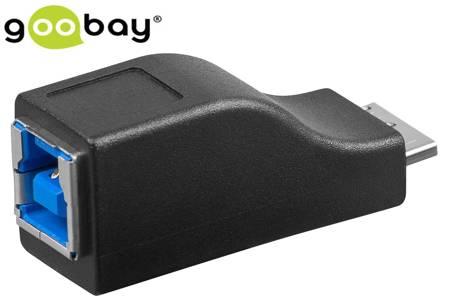 Adapter gniazdo USB typ B 3.0 na wtyk micro-B 3.0